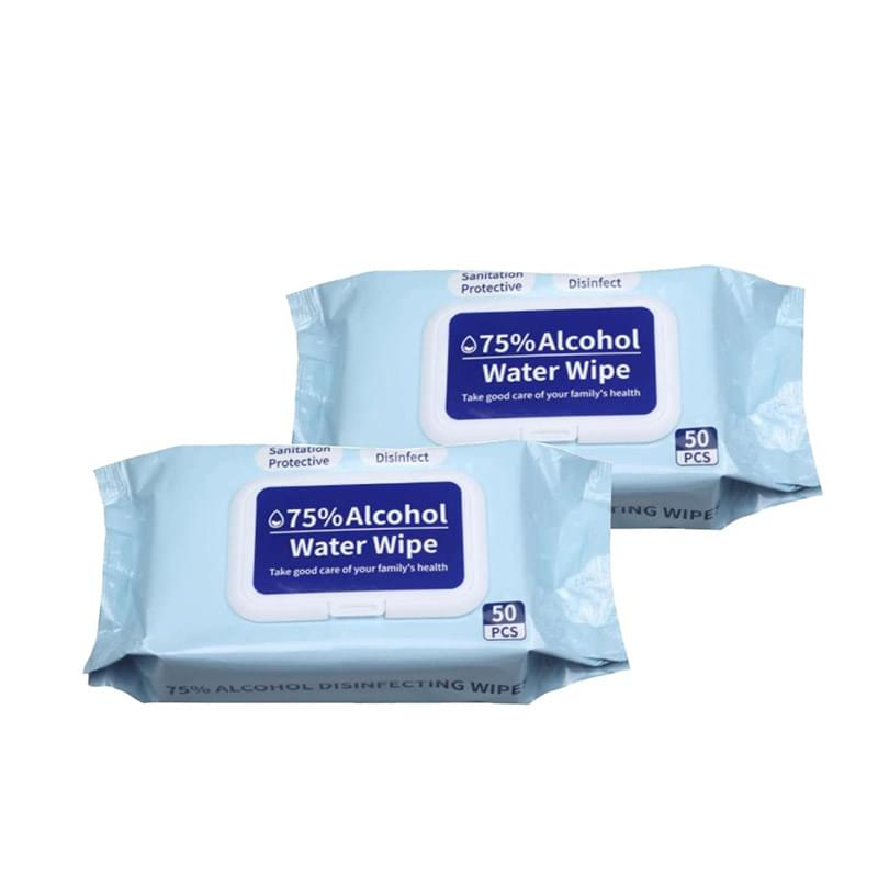 75% Alcohol Disinfectant Wipes - 50 Wipe Pouch
