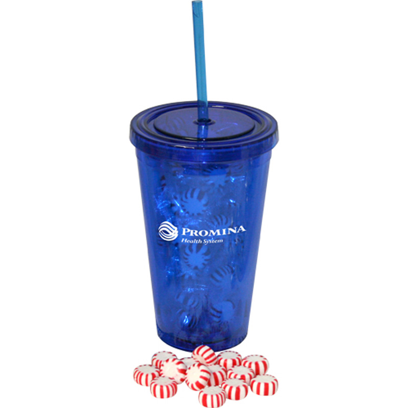 16 oz Insulated Acrylic Tumbler - Starlight Mints