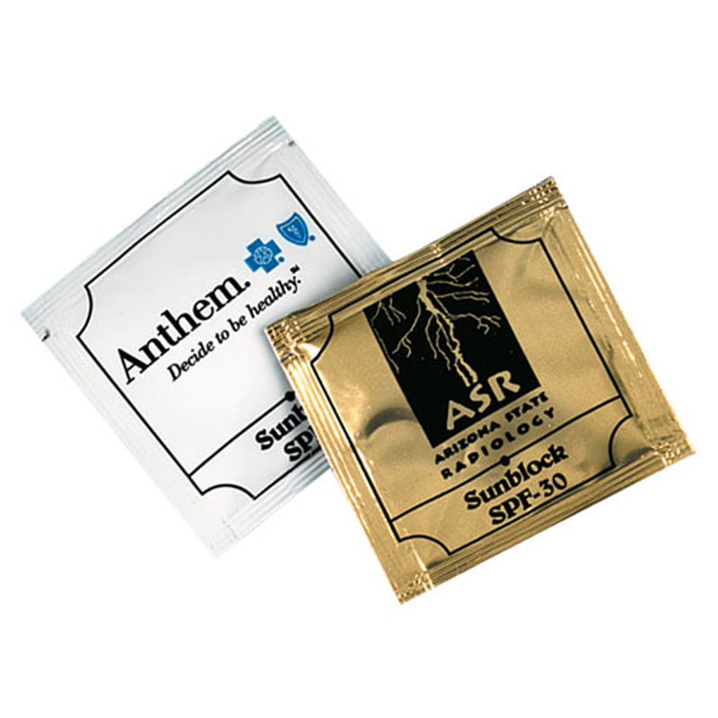 Small Sunscreen Packets SPF30 (USA MADE)
