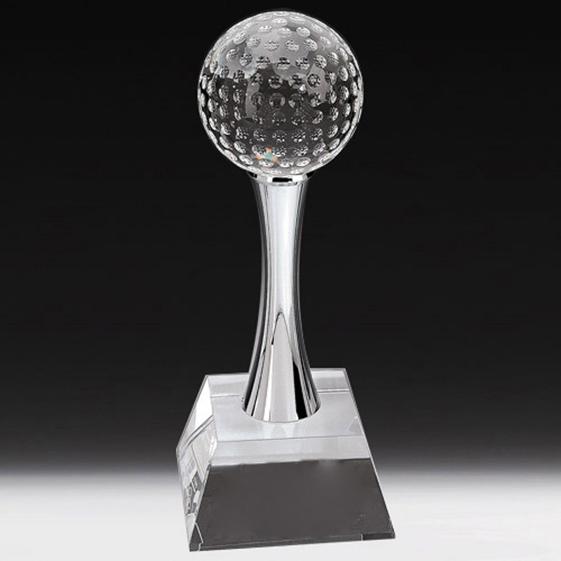 Dudley Golf Ball Held By Stand