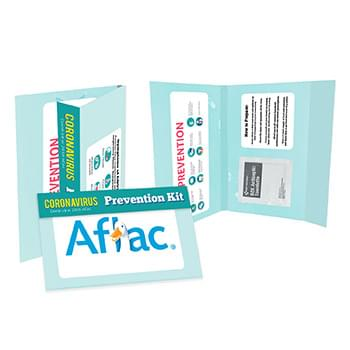 Info Card with Antiseptic Wipe
