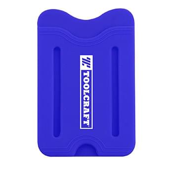 Silicone Wallet with Finger Slot