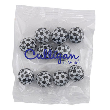 Snack Bag with Chocolate Soccer Balls