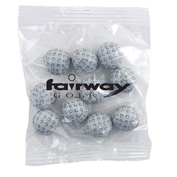Snack Bag with Chocolate Golf Balls