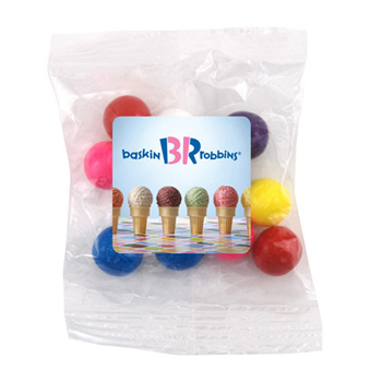 Snack Bag with with Gumballs
