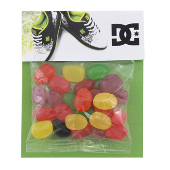 Billboard Bag with Jelly Beans