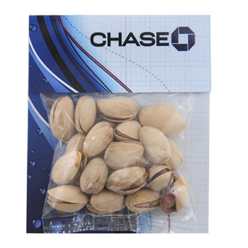 Billboard Bag with Pistachios