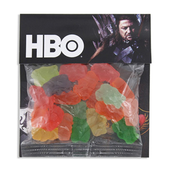 Billboard Bag with Gummy Bears