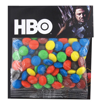 Billboard Bag with M&M's