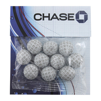 Billboard Bag with Choc. Golf Balls