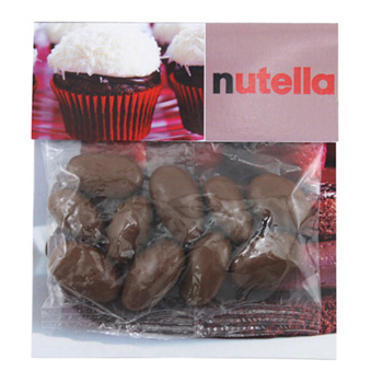 Billboard Bag with Choc. Almonds