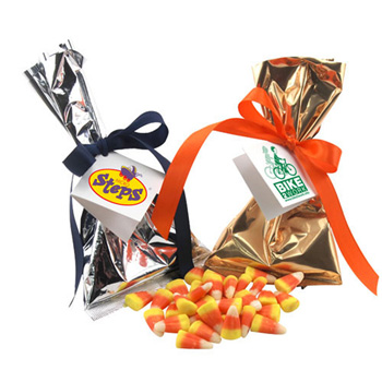 Mug Stuffer with Candy Corn