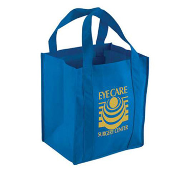 Non-Woven Tote Bag w/ Reinforced Handles - Full Color