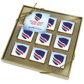 9 Piece Chocolate Gift Box