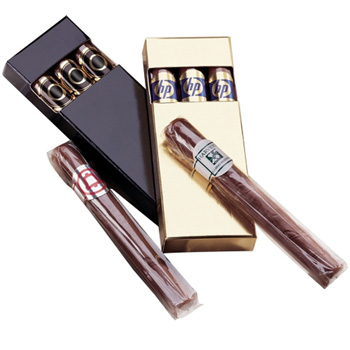 Chocolate Cigars In Gift Box