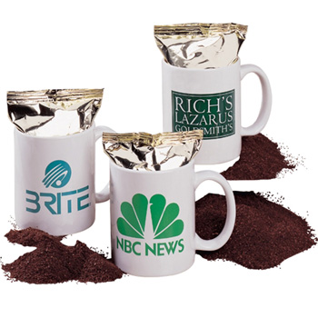 Coffee Mug w/ Coffee Pack