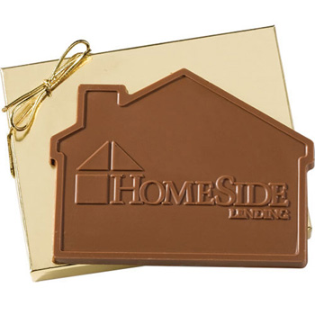 3.2 oz House Custom Chocolate in Gift Box