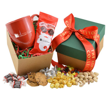 Mug and Chocolate Covered Peanuts Gift Box