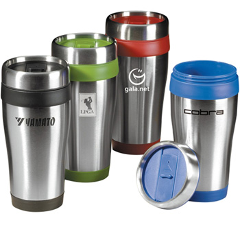 16 oz Insulated Travel Tumbler with Spillproof Lid