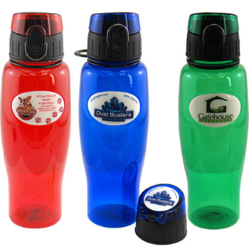 24 oz Full Color Dome Sport Bottle