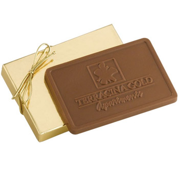 3 oz Custom Chocolate in Gift Box