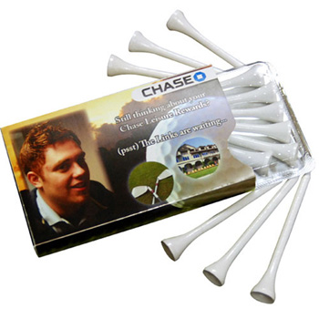 Golf Tee's in Envelope- Golfelope