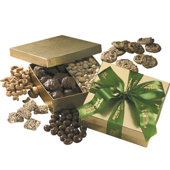 Gift Box with Chocolate Baseballs