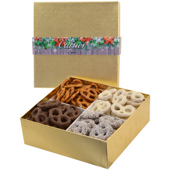 Large 4 Way Pretzel Gift Box