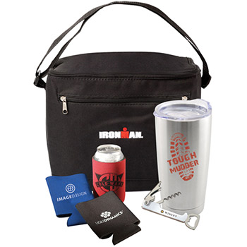 Everything But the Beer Embroidered Duffel Bag Gift Set