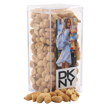 Acrylic Box with Peanuts