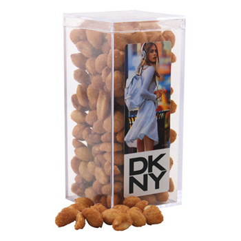 Acrylic Box with Honey Roasted Peanuts