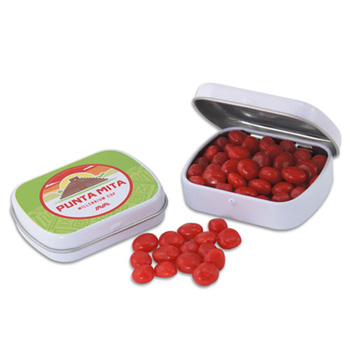 Mini Hinged Tin- Red Hots