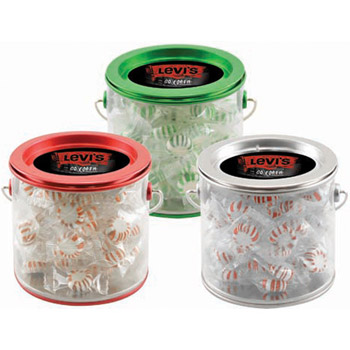 Tin Pail with Starlight Mints