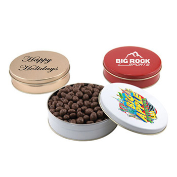 Gift Tin with Choc Covered Peanuts