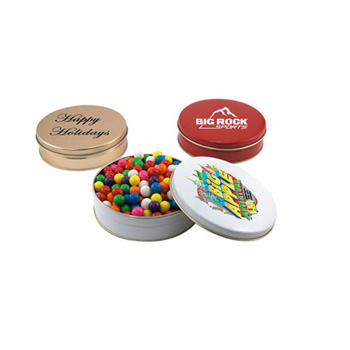 Gift Tin with Gumballs