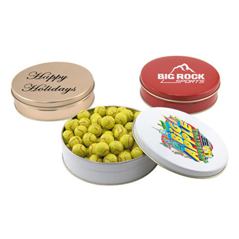Gift Tin with Chocolate Tennis Balls