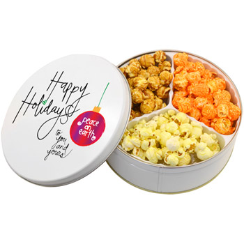 3 Way Popcorn Mix Tin