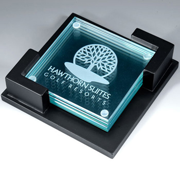 Trevose Four Piece Coaster Set