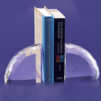 Venango Faceted Rounded Bookends