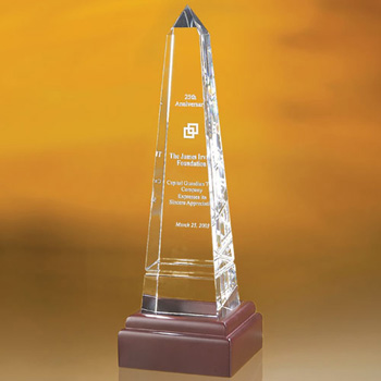 Bally Grooved Obelisk Award