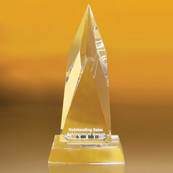 Beavercreek Spearhead Shaped Award 8