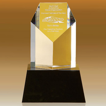 Clymer Pentagon Shaped Award