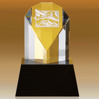 Darby Fan Shaped Award