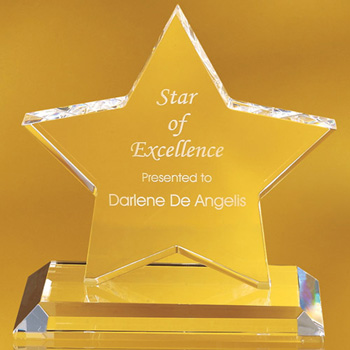 Columbiana Star Shaped Award
