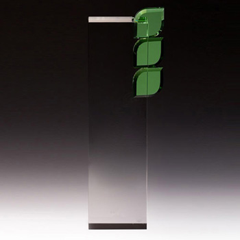 Billerica Rectangle Leaf Award