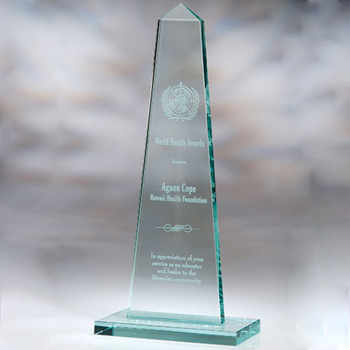 Mont Obelisk Shaped Award