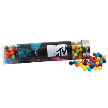 Tube with Mini Jawbreakers